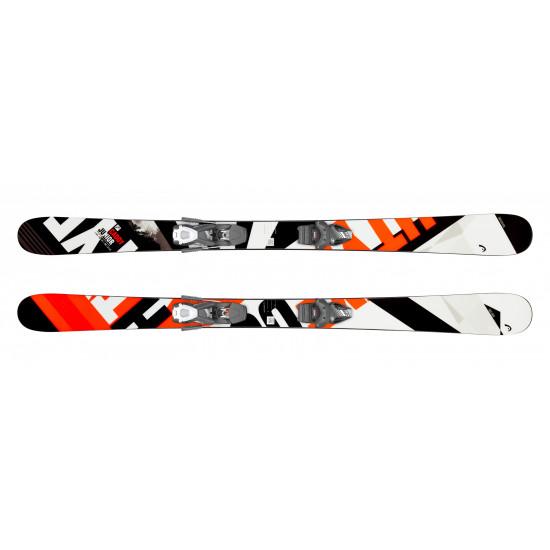 Комплект Caddy  Jr  + SX 7.5 GW AC Brake 90 [J] (314069+114083) (горные лыжи+крепления гл) black/neon orange
