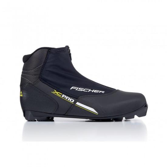 Ботинки NNN Fischer XC PRO BLACK YELLOW S21817