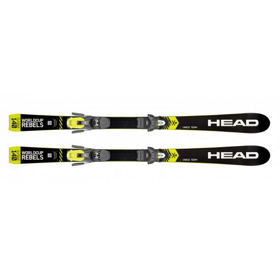 Комплект WC iRace Team + EVO 9 GW AC Brake 78 [J] (314159+100810) (горные лыжи+крепления гл) black/neon yellow